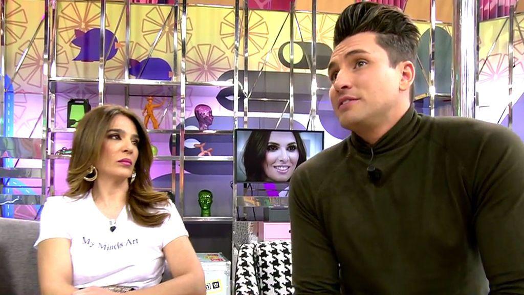 """Víctor, extronista: """"Irene Rosales quiso entrar en Mujeres y Hombres"""""""