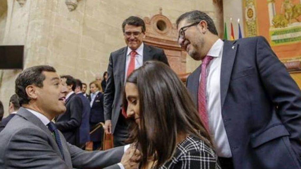 Vox y PP se reúnen sin Ciudadanos con la formación de Gobierno de Andalucía en suspenso