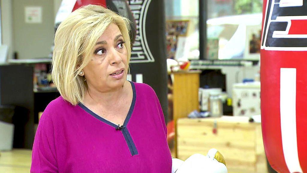 """Carmen Borrego, sobre sus compañeros: """"Me gustaría que no fueran tan crueles"""""""