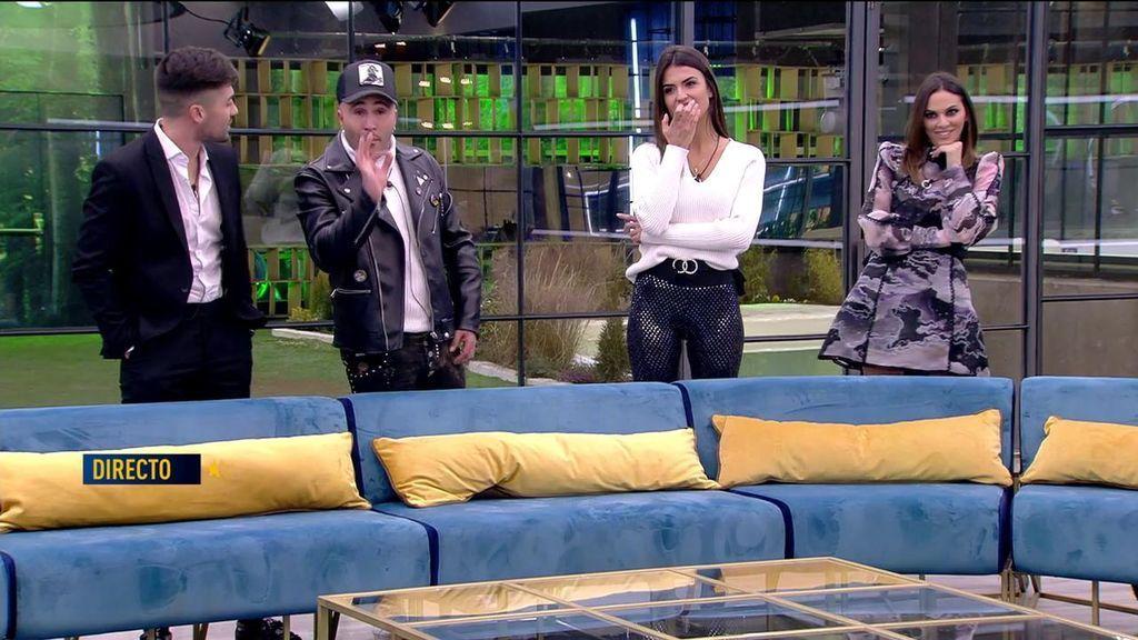 """Kiko y Albalá tienen un intento de reconciliación, pero Sofía malmete: """"Alejandro dice que no sabes cantar"""""""