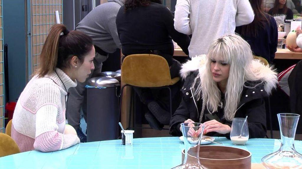La conversación de Ylenia con Raquel para solucionar los problemas con Sofía Suescun