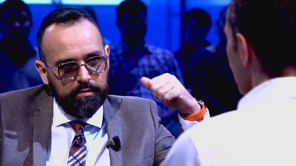 """""""En televisión, a veces, por ganar la discusión uno hace un poquito de trampa"""""""