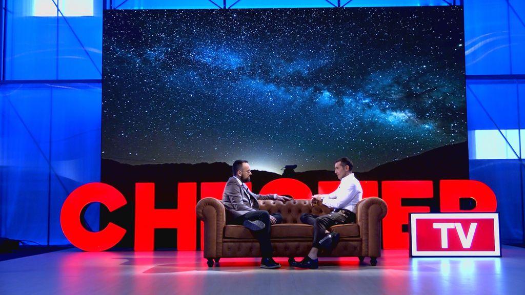 Risto Mejide y Jesús Vázquez en 'Chester'.