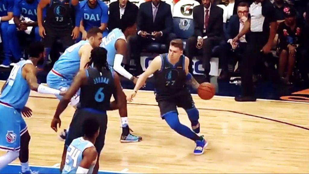 El rey de la NBA, Lebron James, se rinde ante la nueva estrella, Luka Doncic