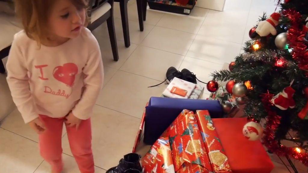 Cabalgata, roscón y muchos regalos: Yoli y Valeria despiden la Navidad en familia