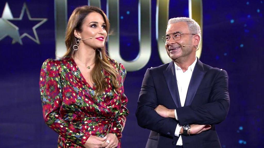 Paula Echevarría desvela a Jorge Javier con quién entraría a 'GH DÚO'