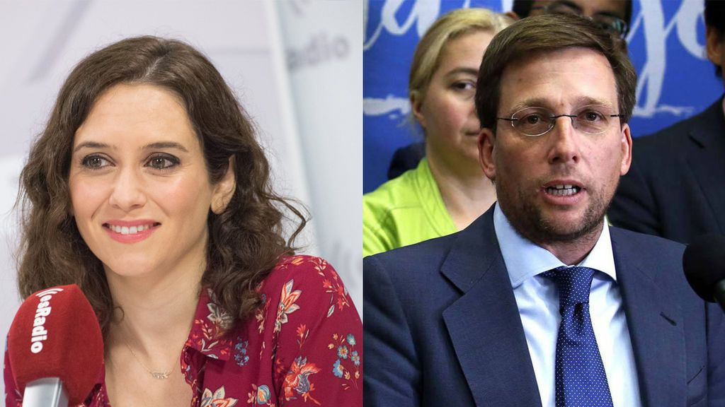 Isabel Díaz Ayuso y José Luis Martínez-Almeida, candidatos del PP a la Comunidad de Madrid y el ayuntamiento