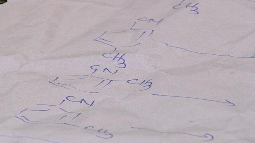 """Así son las fórmulas que siguen los narcotraficantes para """"cocinar""""  anfetaminas"""