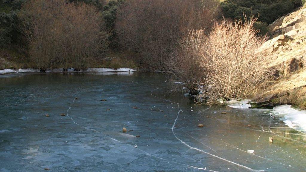 Las cinco imágenes del día más frío del invierno: cencellada, pantanos congelados y -11°C