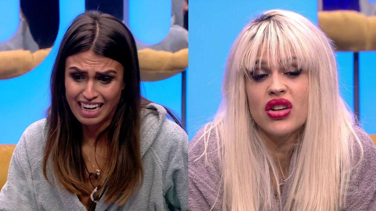 Sofía e Ylenia rompen su amistad de dos días y se nominan mutuamente