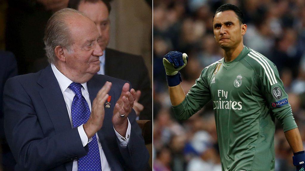 """La conversación entre el Rey Emérito Juan Carlos I y Keylor Navas: """"¿Qué nos pasa? ¡Que vaya temporada que llevamos!"""""""