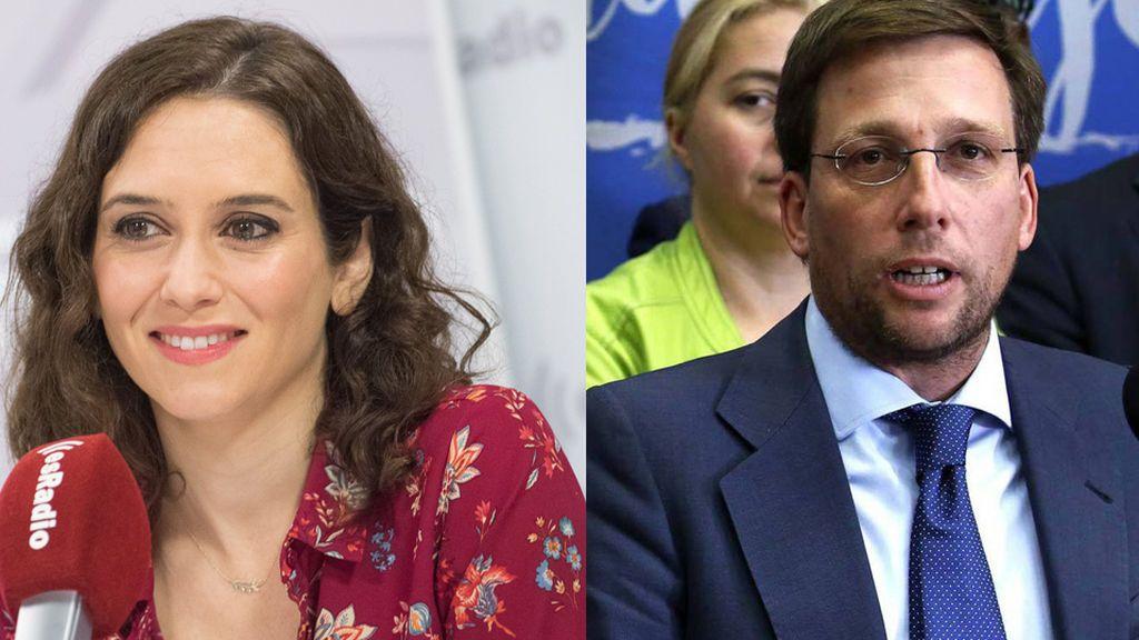 Palo a Garrido: Isabel Díaz Ayuso y José Luis Martínez-Almeida, candidatos del PP en Madrid