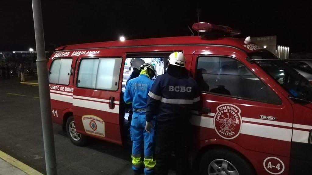 Mueren 17 personas en un incendio en una clínica de rehabilitación de Ecuador