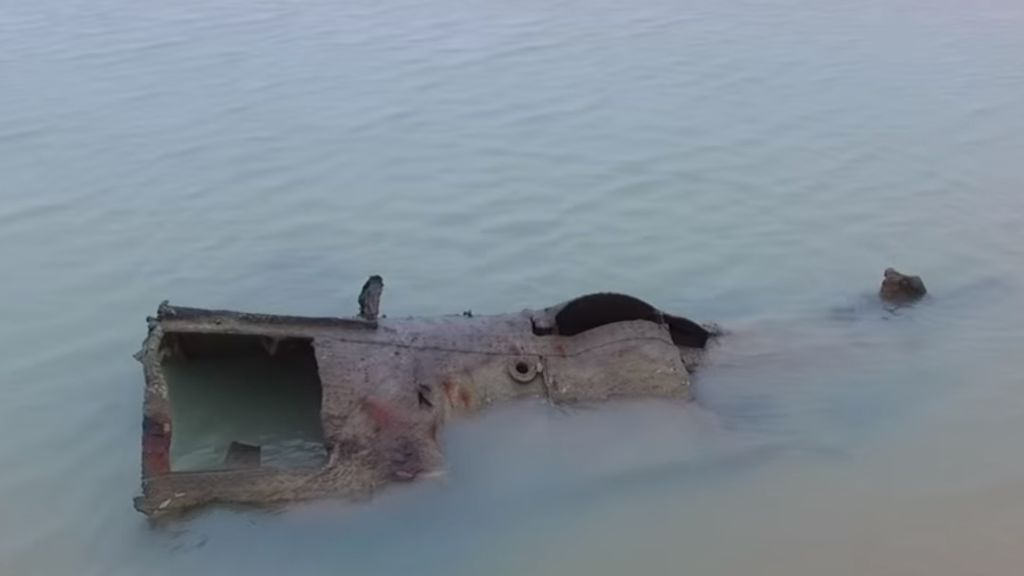 Encuentran un submarino alemán de la I Guerra Mundial en una playa francesa
