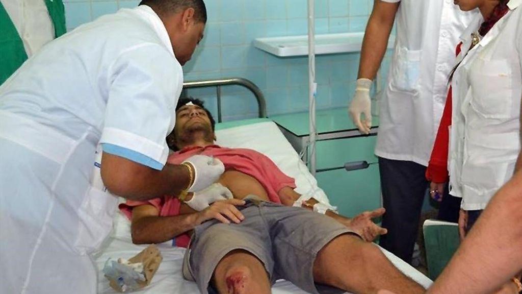 Un niño de tres años entre los españoles heridos en el accidente de tráfico en Cuba
