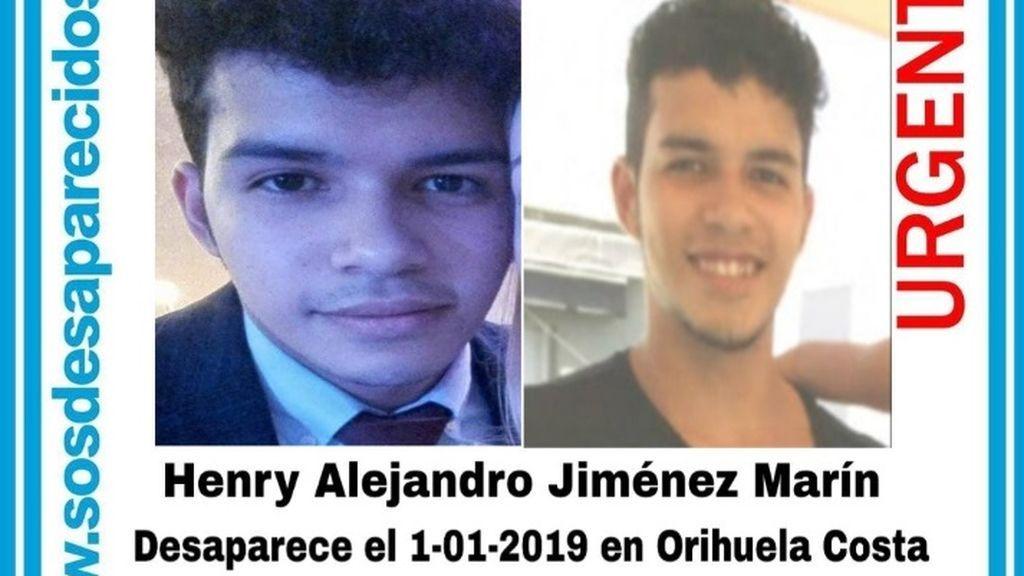 Sigue la búsqueda del joven de 20 años desaparecido en Orihuela desde Año Nuevo