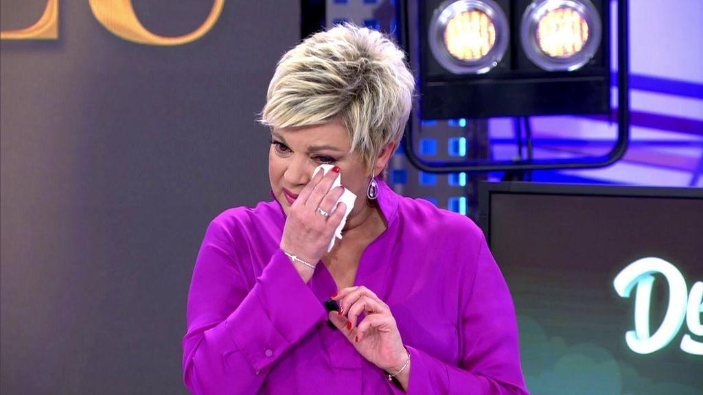 """Terelu se rompe en su vuelta a televisión y da los detalles de su calvario: """"Lloraba gritando"""""""