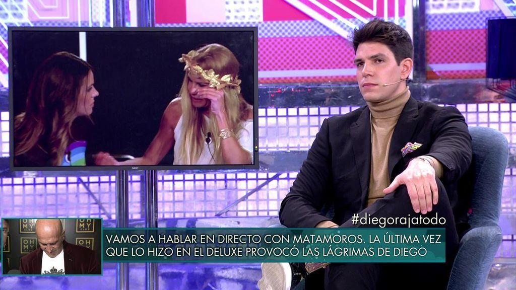 Diego Matamoros ve imposible la reconciliación con su hermana