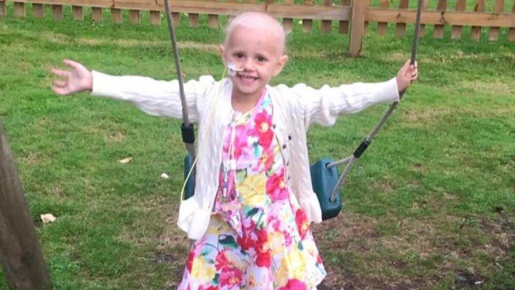 Un dolor de estómago en una niña de cuatro años resultó ser un cáncer
