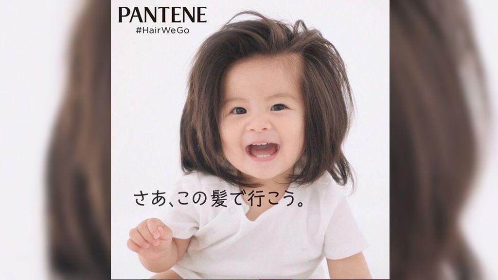 Baby Chanco, la bebé con 'pelazo', modelo de Pantene
