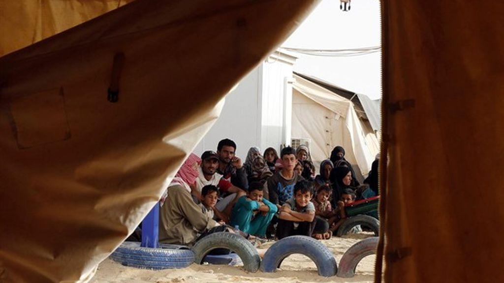 Una mujer siria se prende fuego junto a sus tres hijos en señal de protesta