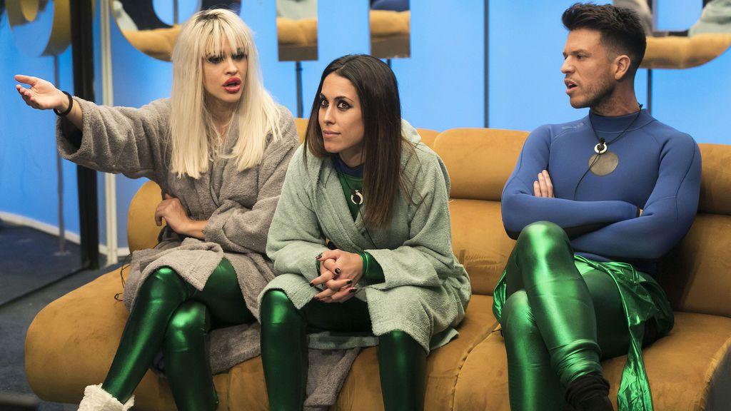 Fortu, Yoli, Ylenia, Raquel y Fede se enfrentan a  los 'contra alegatos' en 'GH DÚO'