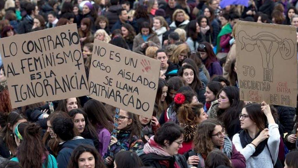 Los colectivos feministas se manifestarán en contra de VOX el próximo martes