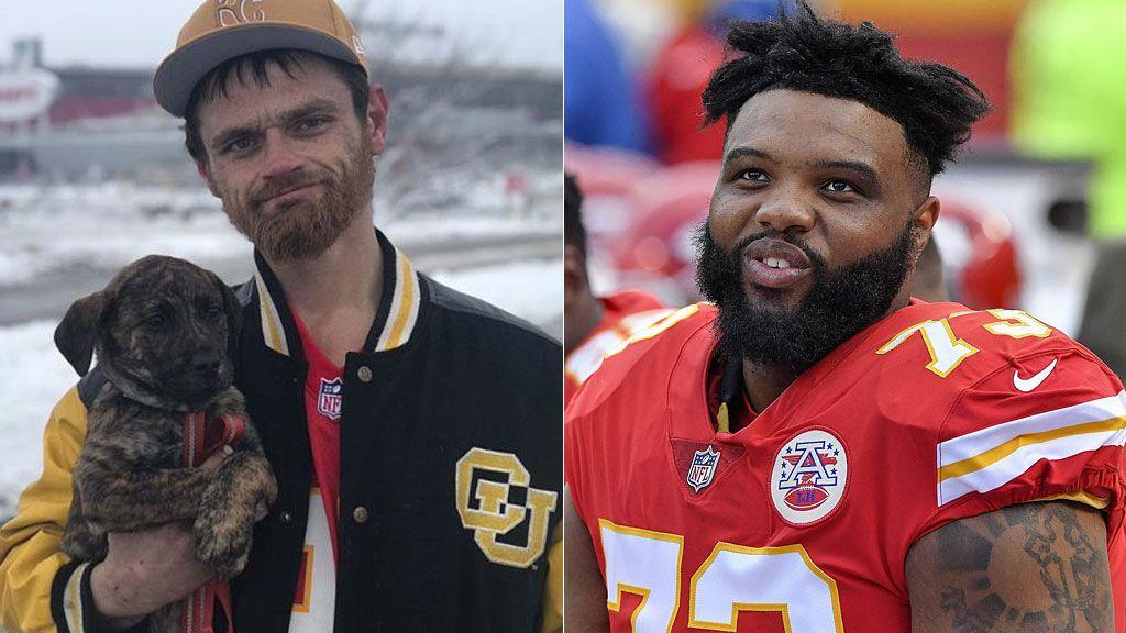 Un 'sin techo' ayuda a un hombre a sacar un coche de la nieve sin saber que es una estrella de la NFL y recibe una recompensa no olvidará en su vida