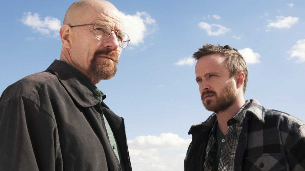 Bryan Cranston y Aaron Paul, de 'Breaking bad'.