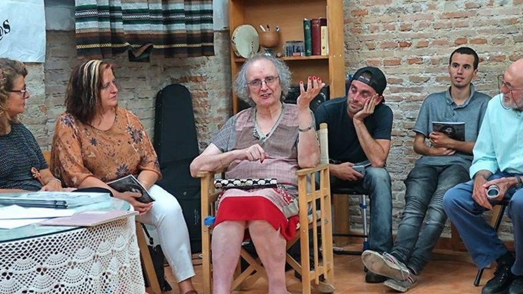 Kim, la activista transexual de 77 años de Granada inicia una huelga de hambre contra Vox