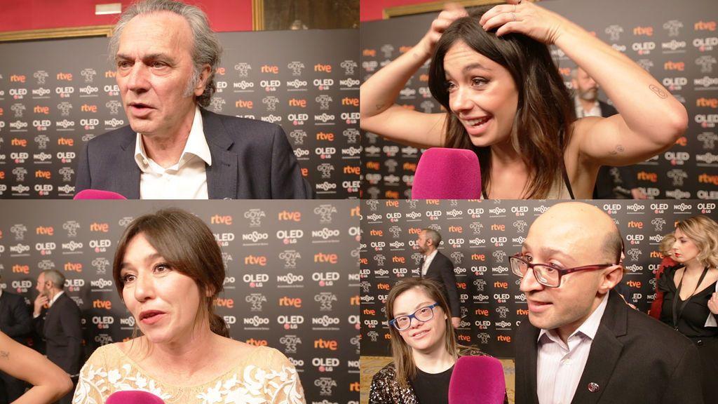 Coronado, Anna Castillo y el resto de nominados a los Goya nos cuentan 'historias para no dormir'