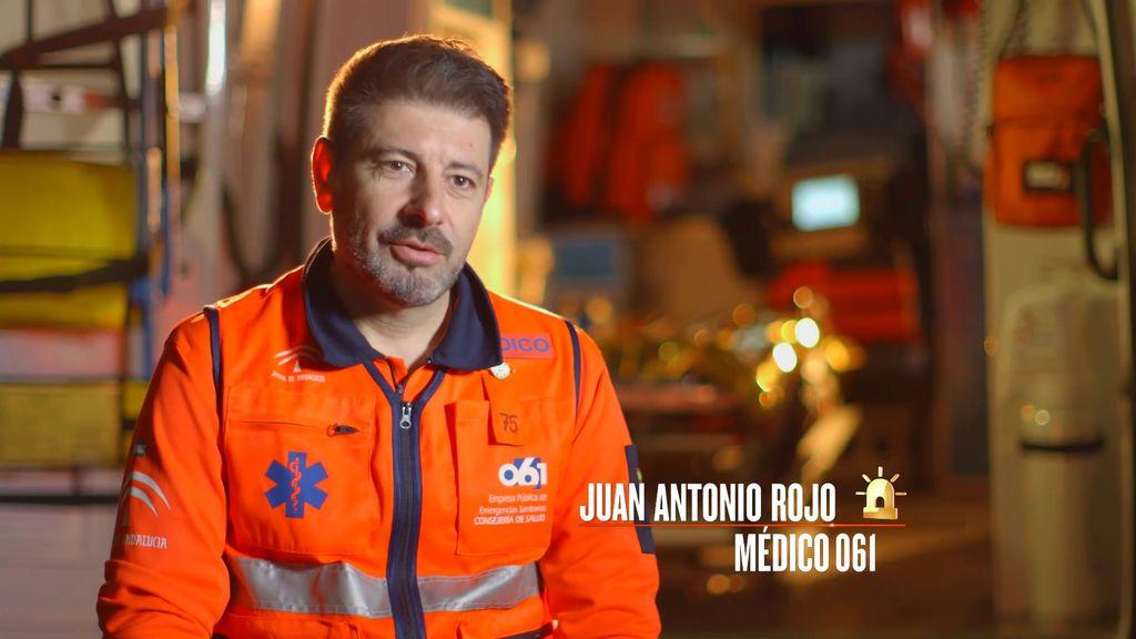 Juan Antonio Rojo, en 'Héroes, más allá del deber'.