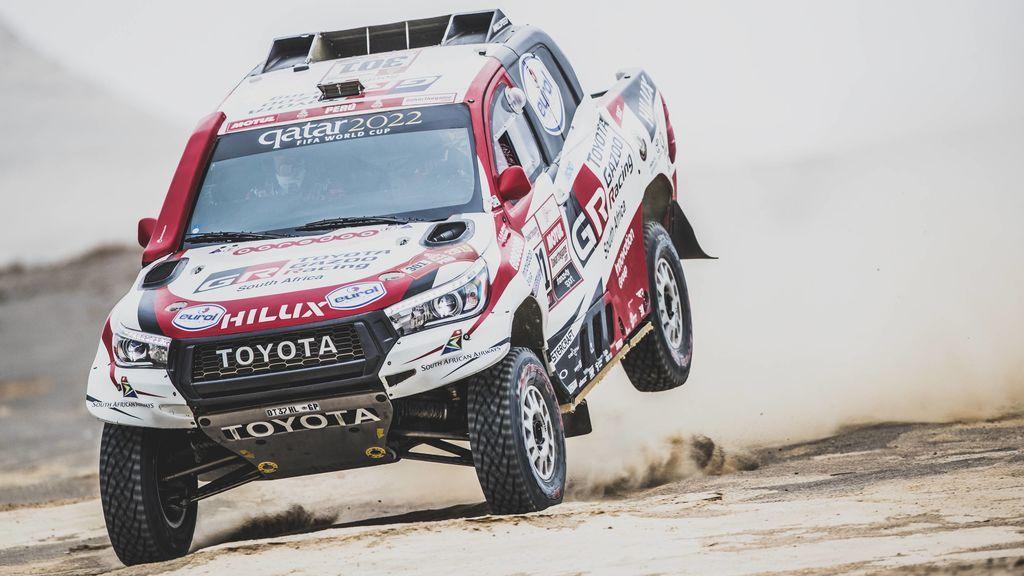 Al-Attiyah, virtual ganador en coches del Dakar