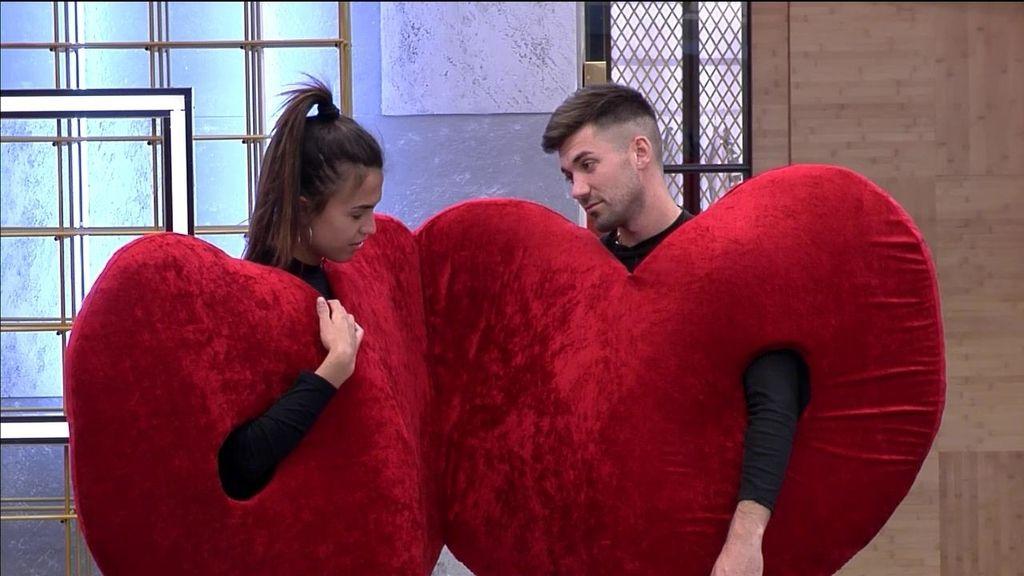 Unidos con un disfraz de corazón: así tendrán que pasar la semana los concursantes de 'GH DÚO'