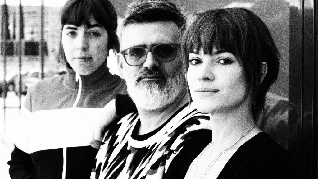 Cristina Daura, Nacho Moreno y María Bastarós (por Esther L. Calderón)