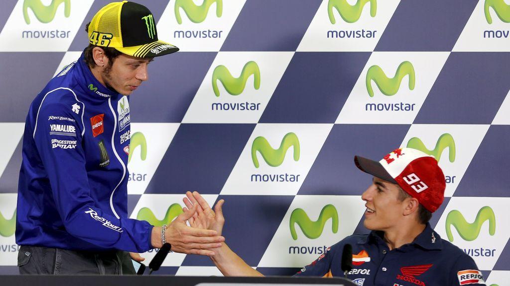 La sorpresa inesperada que Valentino Rossi ha dado a Márquez mientras se recupera de su operación