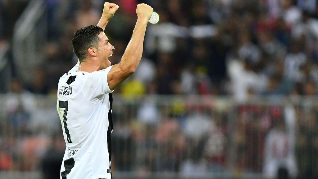 La Juventus gana al Milan la Supercopa de Italia con gol de Cristiano Ronaldo (1-0)