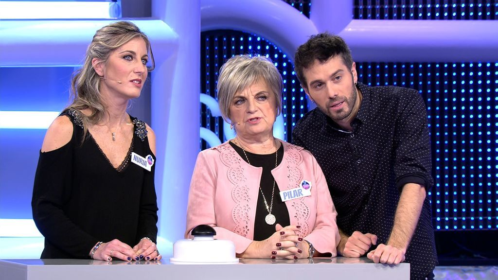 Nuria y Pilar en 'El concurso del año' 100.