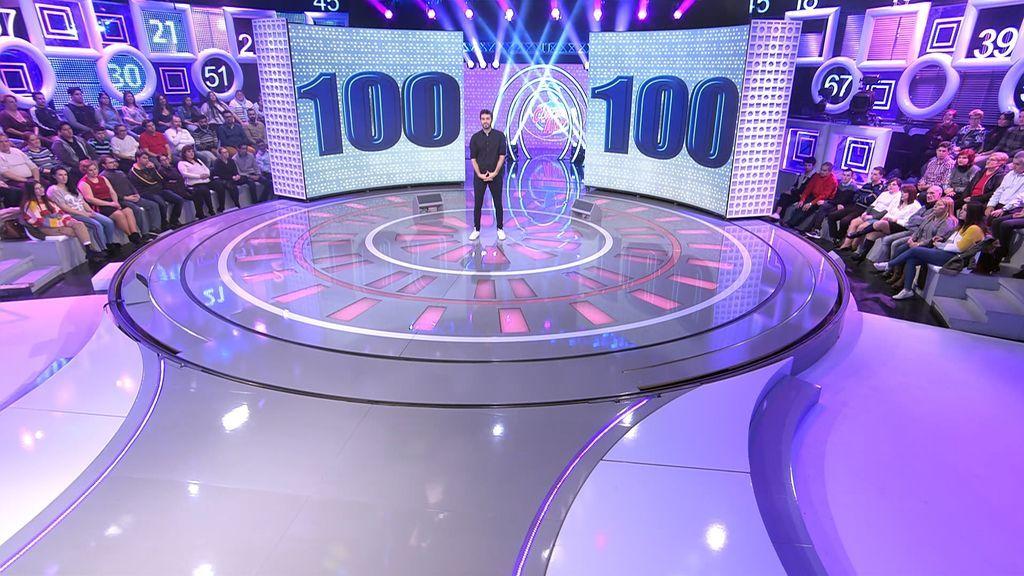 Dani Martínez en 'El concurso del año' 100