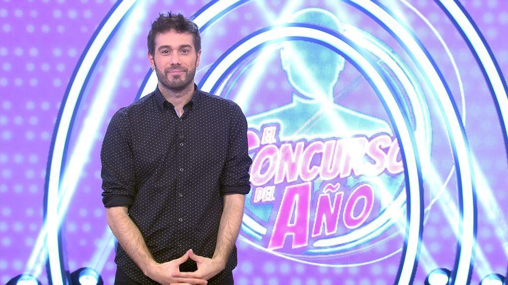 Dani Martínez, presentador de 'El concurso del año' 100