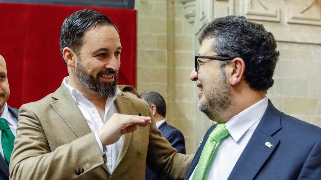 Las citas bíblicas con las que el candidato de Vox trufó su admonición ante el Parlamento andaluz