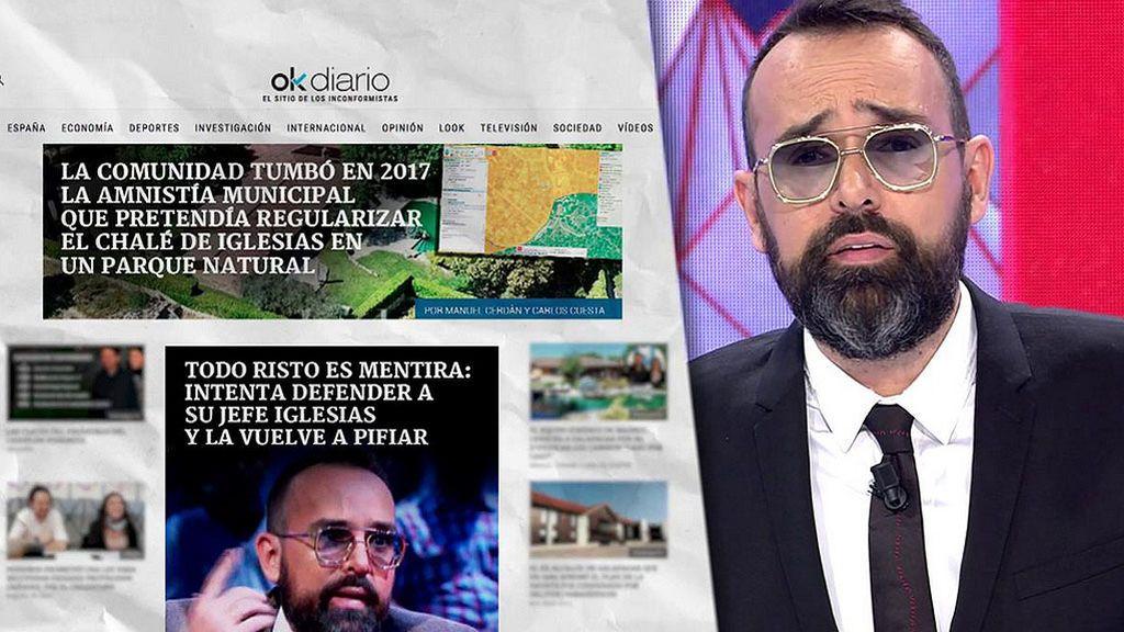 24 horas después de ser desmentido, Eduardo Inda vuelve a mentir sobre Pablo Iglesias