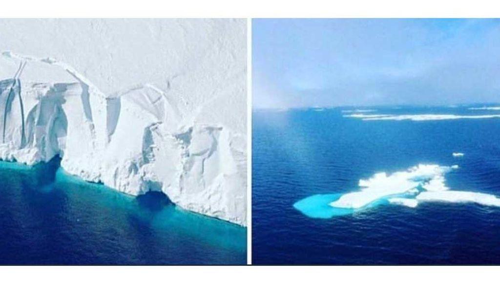 El #10yearchallenge que nos devuelve a la realidad: el cambio climático en diez imágenes