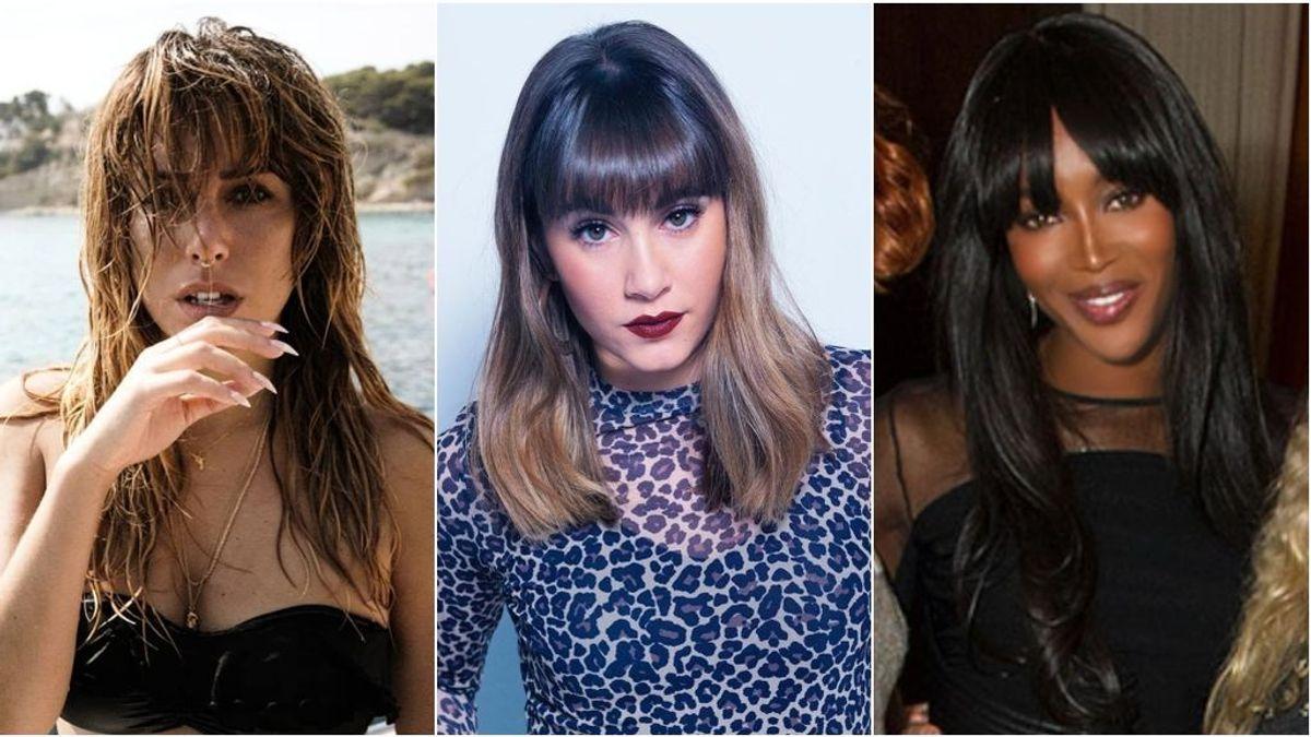 Blanca Suárez,  Aitana y Naomi Campbell convierten el pelo rizado en tendencia: vota quién lo lleva mejor