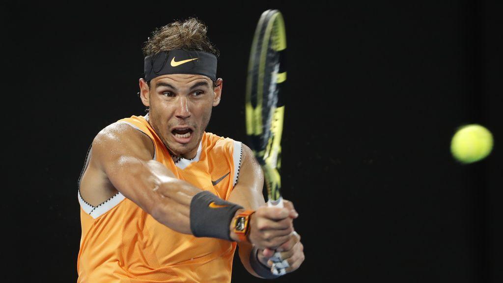 Rafa Nadal vence a De Miñaur y se mete en octavos del Abierto de Australia