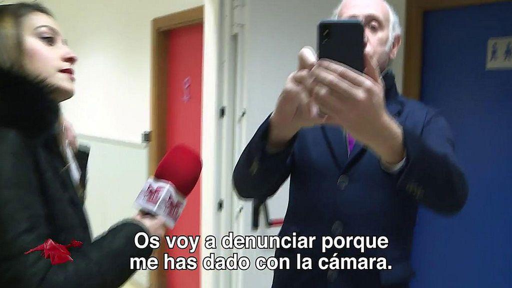 La secuencia completa de la supuesta agresión a Eduardo Inda en Mediaset