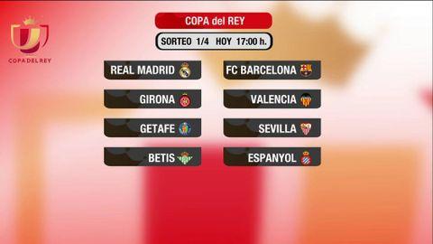 Sorteo de cuartos de final de la Copa del Rey - Deportes Cuatro