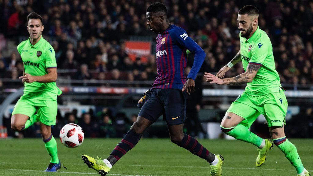 El Levante recurrirá la decisión de la jueza de Competición de desestimar su denuncia al Barça