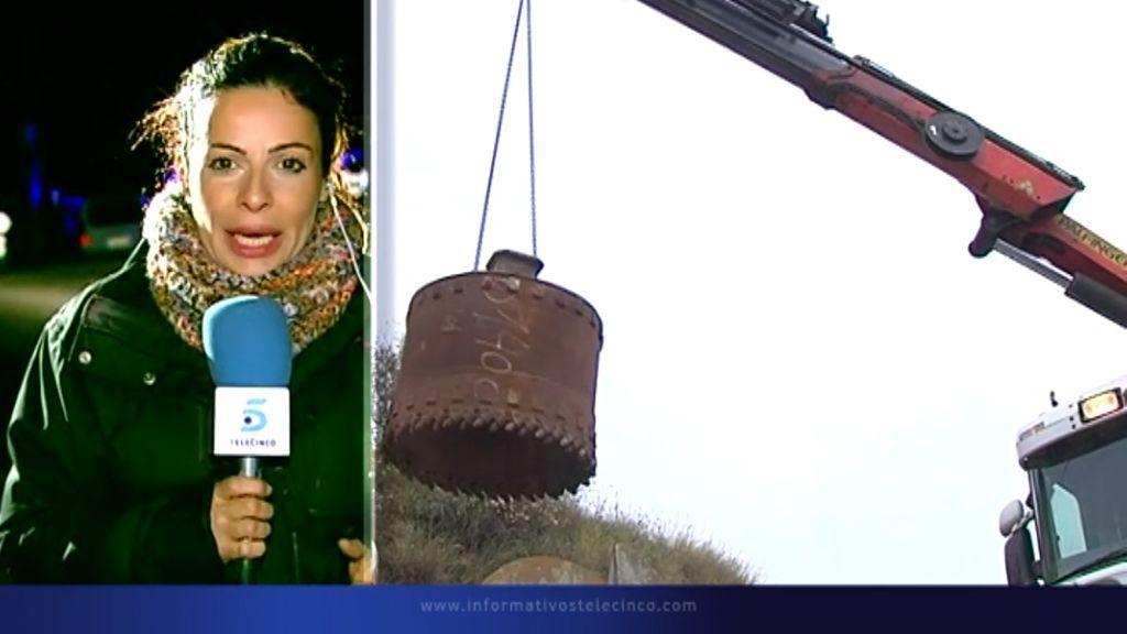 Más cerca de Julen: la perforadora trabaja excavando 6 metros por hora