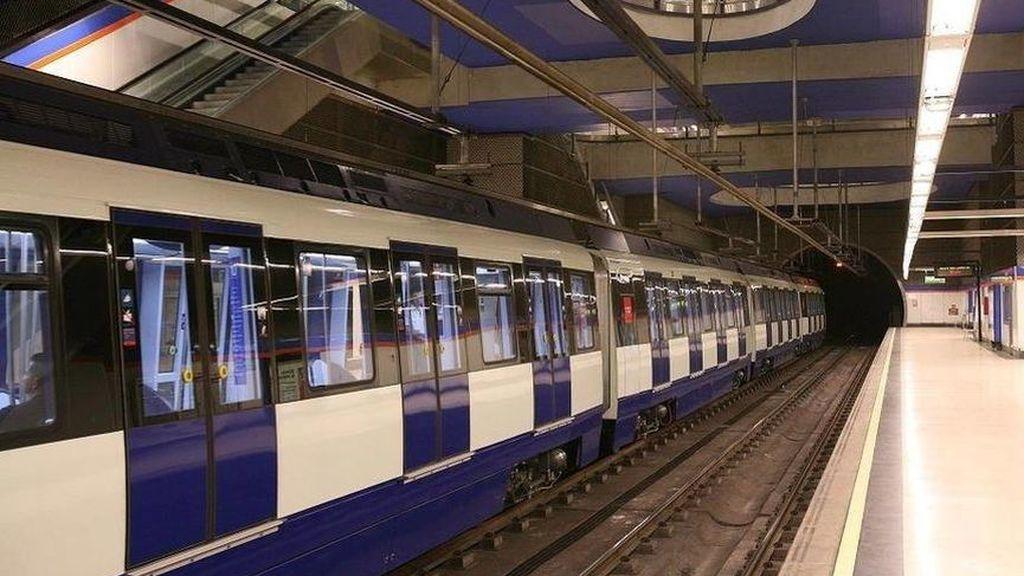 Cortan 10 horas la línea 6 de Metro de Madrid por desprendimientos en Manuel Becerra